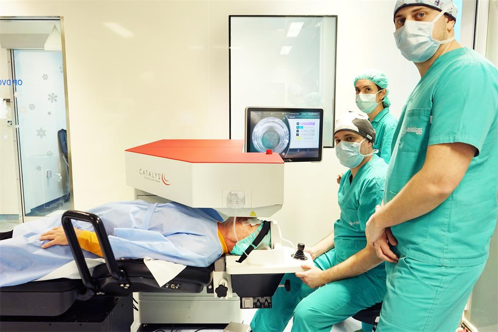 The new cataract surgery method was helped developed in Croatia.