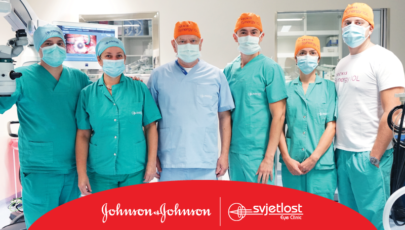World premiere at the Svjetlost Eye Clinic