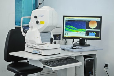 Triton DRI Topcon swept source OCT - optical coherence  retinal tomography