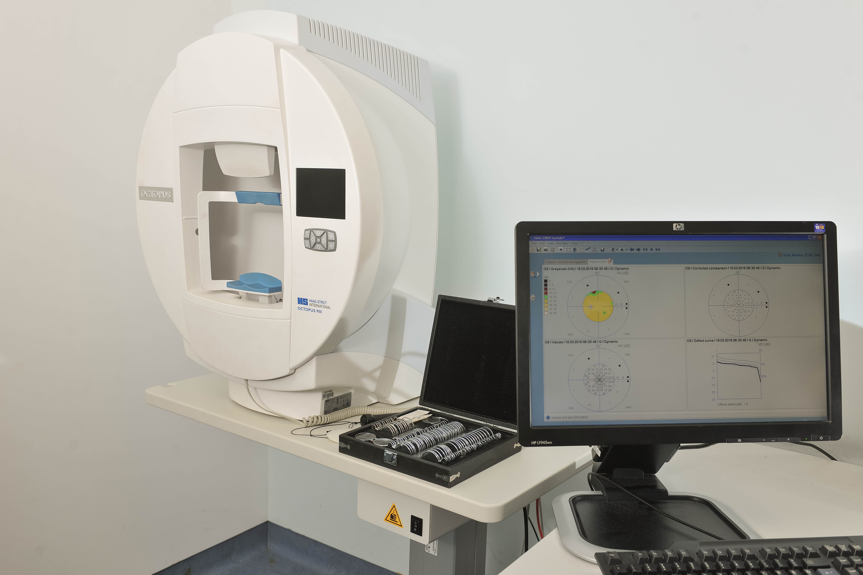 OCTOPOUS 9000 kompjuterizirano vidno polje