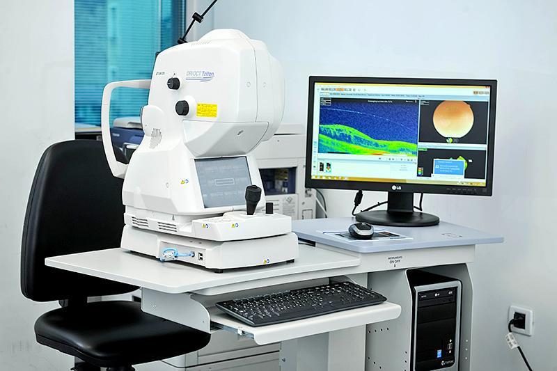 La tomografia a coerenza ottica
