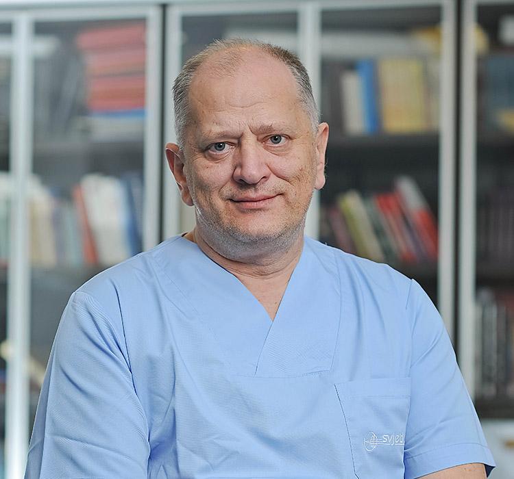 prof.dr.sc. Nikica Gabrić, specijalist oftalmolog, subspecijalist prednjeg segmenta