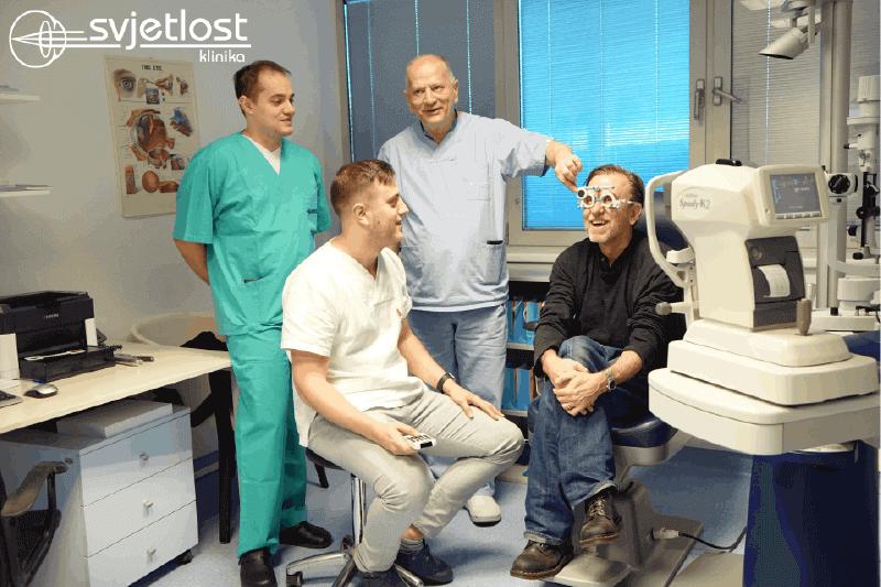 """""""Moje oči više ne lažu"""" – Tim Roth operiran u Klinici Svjetlost"""