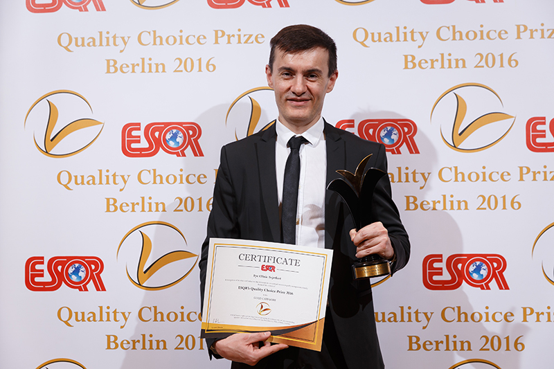 Svjetlost received a new European award for quality