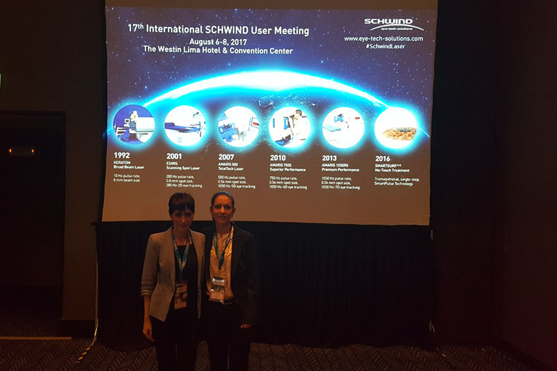 Dr. sc. Maja Bohač and dr. Alma Biščević gave talks at the Schwind Meeting in Peru