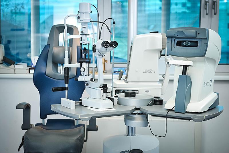 Biomikroskop autotonometar autorefraktometar keratometar
